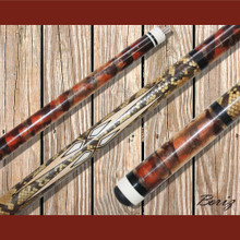 Boriz Billiards Pool Cue Stick Serpent Skin Style SS 008