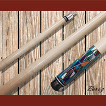 Boriz Billiards Pool Cue Stick with Inlay Stones Grip IS 001