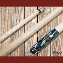 Boriz Billiards Pool Cue Stick with Inlay Stones Grip IS 002