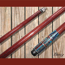 Boriz Billiards Pool Cue Stick with Inlay Stones Grip IS 003