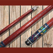Boriz Billiards Pool Cue Stick with Inlay Stones Grip IS 004