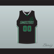 Wes 00 Mt Vernon Junior High School Smelters Basketball Jersey Rebound