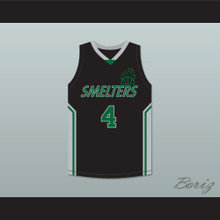 Keith 4 Mt Vernon Junior High School Smelters Basketball Jersey Rebound
