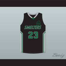 One Love 23 Mt Vernon Junior High School Smelters Basketball Jersey Rebound