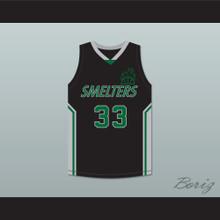Goggles 33 Mt Vernon Junior High School Smelters Basketball Jersey Rebound