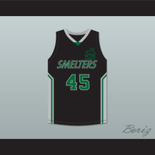 Big Mac 45 Mt Vernon Junior High School Smelters Basketball Jersey Rebound
