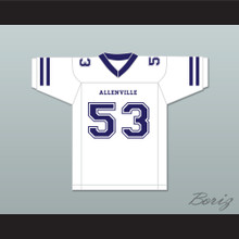 Bill Romanowski Lambert 53 Allenville Guards Football Jersey The Longest Yard