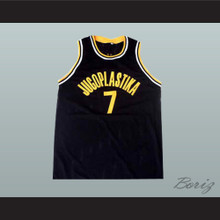 Toni Kukoc Jugoplastika Basketball Jersey Stitch Sewn New