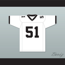 Douglas 51 North Dallas Bulls Football Jersey North Dallas Forty