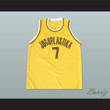 Toni Kukoc 7 Jugoplastika Basketball Jersey Stitch Sewn New