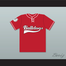 Tyler 9 Bulldogs Baseball Jersey Home Run