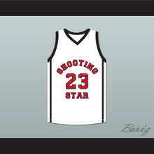 Lebron James 23 Ohio Shooting Stars AAU White Basketball Jersey More Than A Game