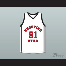 Sian Cotton 91 Ohio Shooting Stars AAU White Basketball Jersey More Than A Game