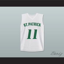 Kyrie Irving 11 St. Patrick High School Basketball Jersey White Stitch Sewn