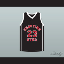 Lebron James 23 Ohio Shooting Stars AAU Black Basketball Jersey More Than A Game