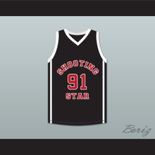 Sian Cotton 91 Ohio Shooting Stars AAU Black Basketball Jersey More Than A Game