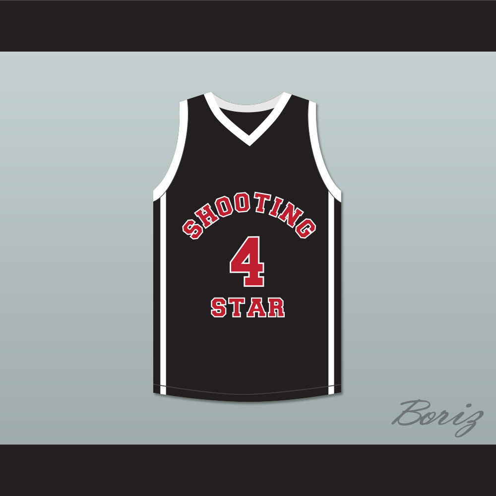san francisco 28c2e f15fd Willie McGee 4 Ohio Shooting Stars AAU Black Basketball Jersey More Than A  Game