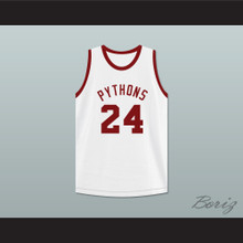 Joseph 'Driftwood' Hainey 24 Pittsburgh Pythons Basketball Jersey The Fish That Saved Pittsburgh