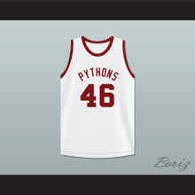 Winston Running Hawk 46 Pittsburgh Pythons Basketball Jersey The Fish That Saved Pittsburgh