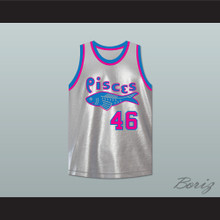 Winston Running Hawk 46 Pittsburgh Pisces Basketball Jersey The Fish That Saved Pittsburgh