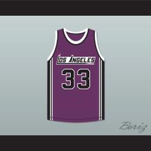 Kareem Abdul-Jabbar 33 Los Angeles Basketball Jersey The Fish That Saved Pittsburgh