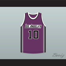 Norm Nixon 10 Los Angeles Basketball Jersey The Fish That Saved Pittsburgh