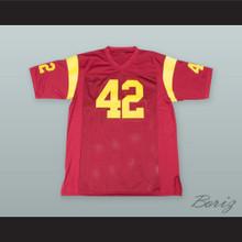 Ricky Baker 42 Red Alternate Football Jersey Boyz n the Hood