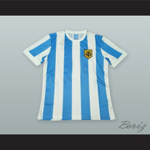 Diego Maradona 10 Argentina Soccer Jersey