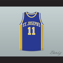 Saleh Wintambuh 11 St Joseph's Basketball Jersey The Air Up There