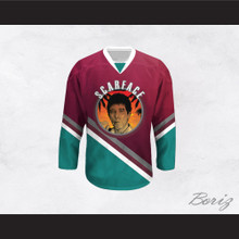 Scarface Al Pacino 32 Hockey Jersey Design 1