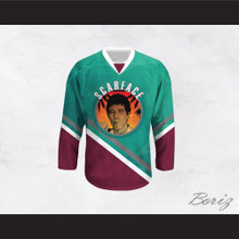 Scarface Al Pacino 32 Hockey Jersey Design 2