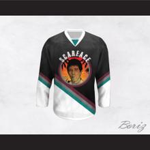 Scarface Al Pacino 32 Hockey Jersey Design 4