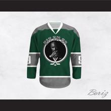 Tupac Shakur 9 Hit Em Up Hockey Jersey Design 3