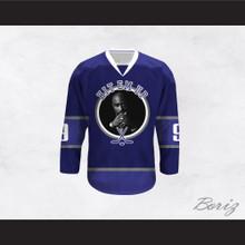 Tupac Shakur 9 Hit Em Up Hockey Jersey Design 4