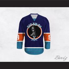 Tupac Shakur 9 Hit Em Up Hockey Jersey Design 5
