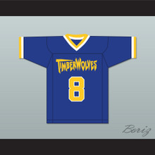 Josh Framm 8 Fernfield Timberwolves Football Jersey