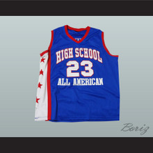 Lebron James High School All American 23 Basketball Jersey New