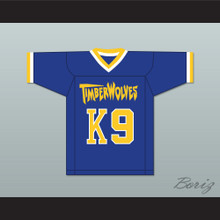 Buddy 'Air Bud' K9 Fernfield Timberwolves Football Jersey