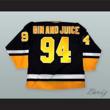 Snoop Dogg 94 Gin and Juice Hockey Jersey