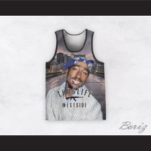 2Pac Shakur 99 Thug Life Westside Basketball Jersey Design 1