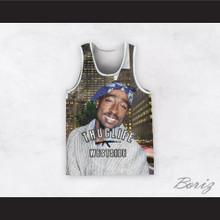 2Pac Shakur 99 Thug Life Westside Basketball Jersey Design 2