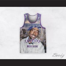 2Pac Shakur 99 Thug Life Westside Basketball Jersey Design 5