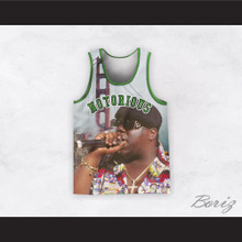 Notorious B.I.G. 21 Basketball Jersey Design 1