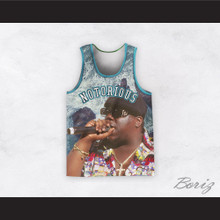 Notorious B.I.G. 21 Basketball Jersey Design 2