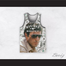 Montana Management Scarface 11 Basketball Jersey Design 1