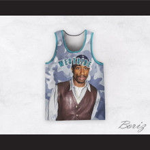 Tupac Shakur 1 Westside Camouflage Basketball Jersey Design 4