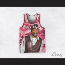 Tupac Shakur 1 Westside Camouflage Basketball Jersey Design 5