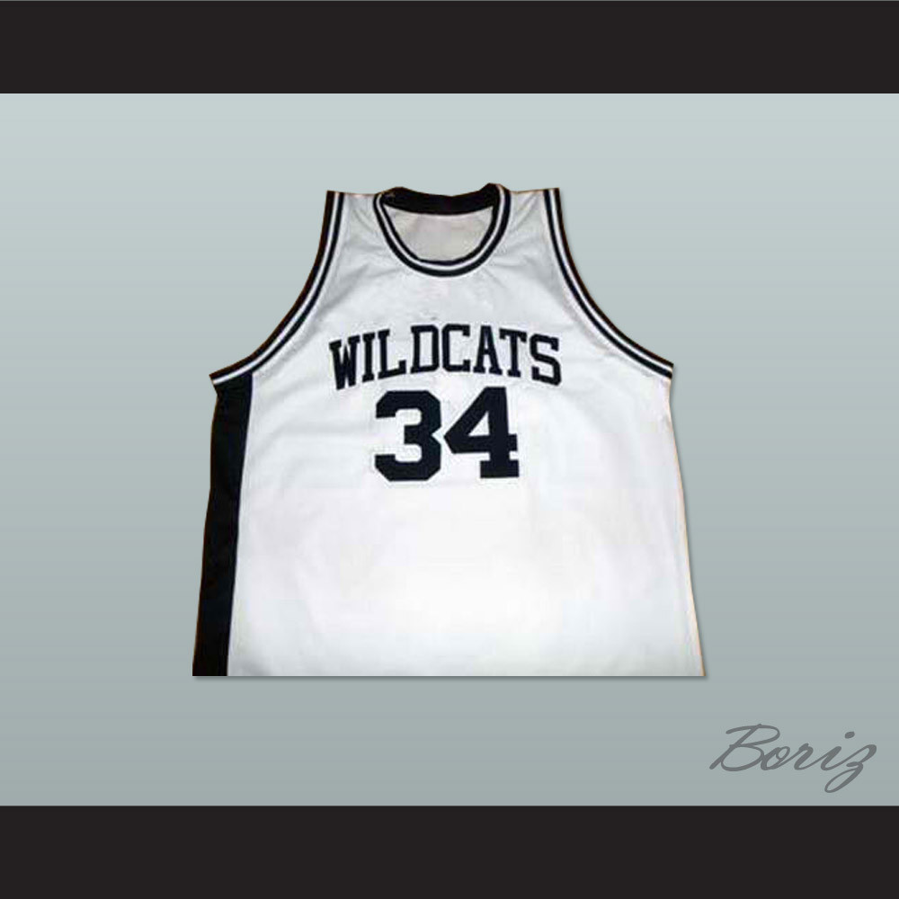 reputable site 783d7 5ca64 Len Bias Northwestern Wildcats High School Basketball Jersey White New