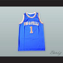 Shawn Carter 1 Roc-A-Fella Blue Basketball Jersey