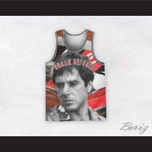 Scarface 11 Cuban Refugee Basketball Jersey Design 2